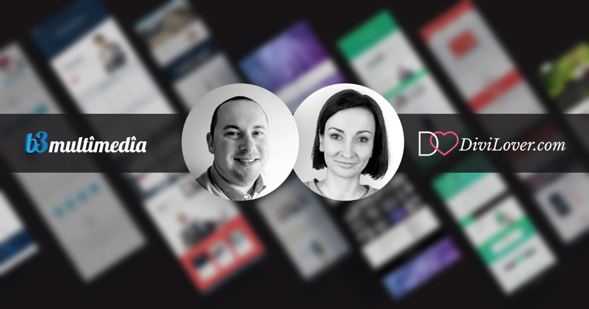 Exciting news from Divi Lover and B3Multimedia Solutions!