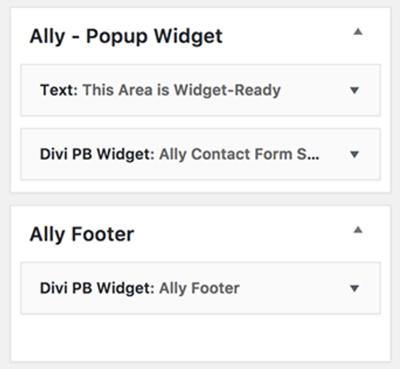 Ally Documentation ~ Divi Lover
