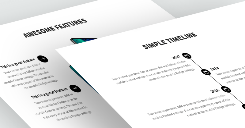 How to Align Divi Blurb Module Icon/Image to the Right